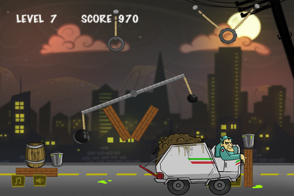 Screenshot Garbage Collector Physics