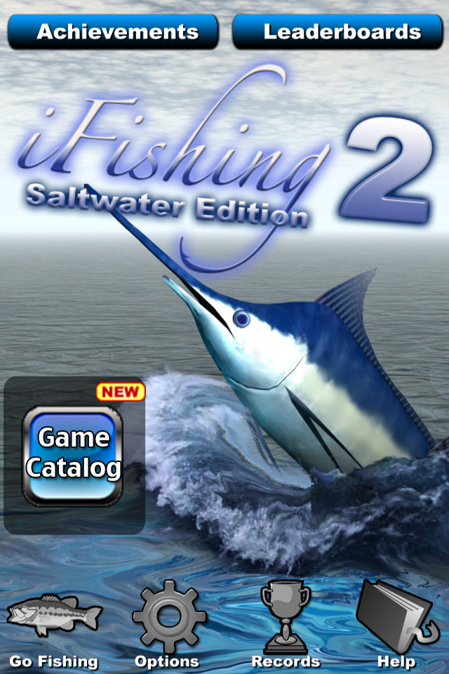 Screenshot i Fishing Saltwater 2